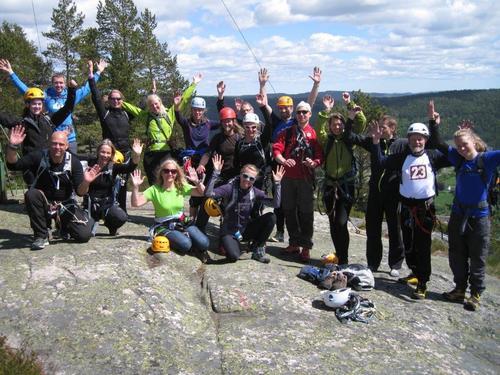 Referat fra klatrekurs 5.-7. juni 2015