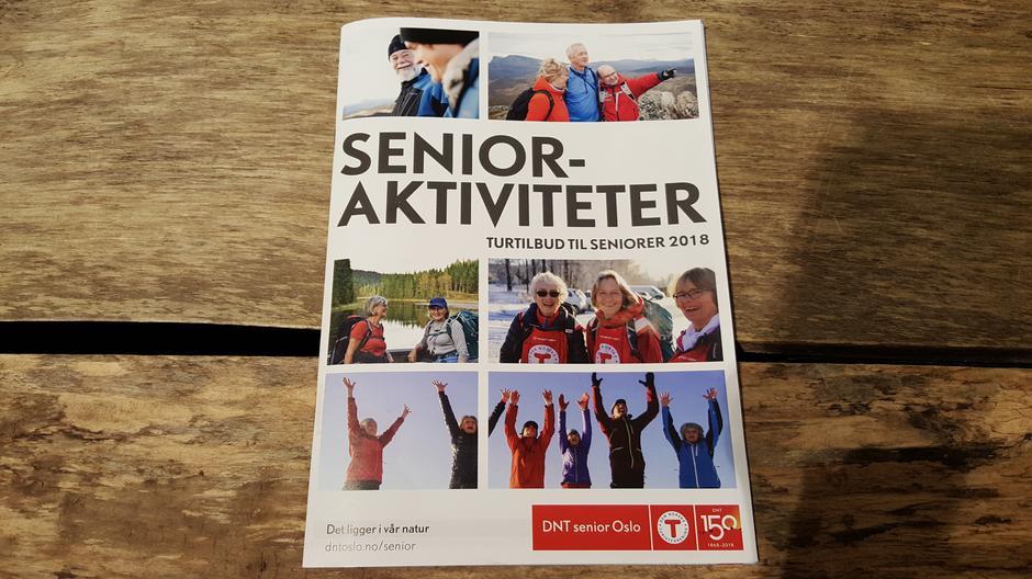 Nå kan du bla i Seniorprogrammet og velge aktiviteter å være med på.