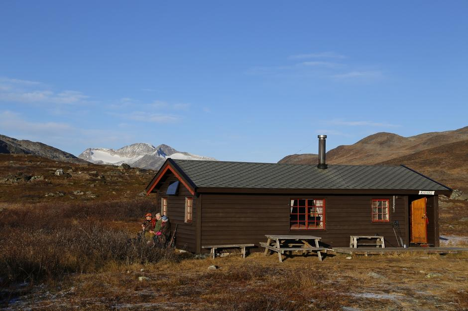 Main cabin at Cunojávri