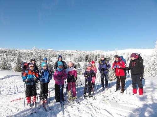 Hytte-til-hytte på ski