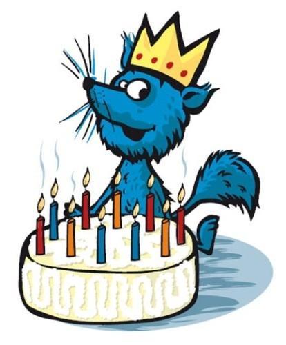Turbo feirer bursdag