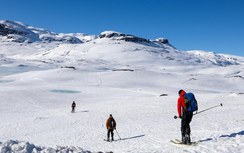 Nå er det bare å finne frem skia og komme seg ut på tur