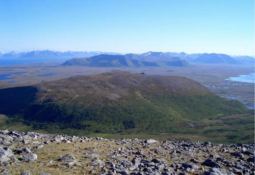 Arnipa sett fra Høgfjellet.