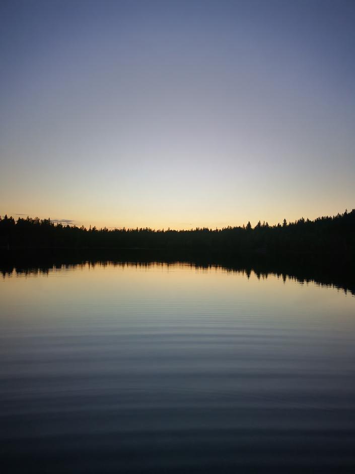 Junikveld ved Kobberhaugtjernet.