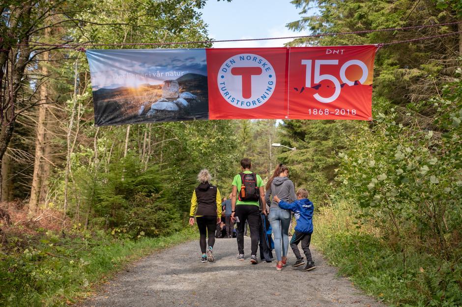 Den Norske Turistforening er 150 år i år