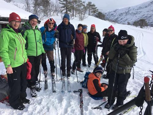 Slik gjekk turen: Skitur Aafedtdalen