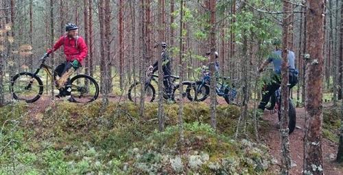 Stisykling i Stavåsen