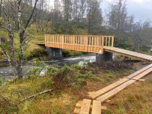 Ny bro over Furevasselva 2021