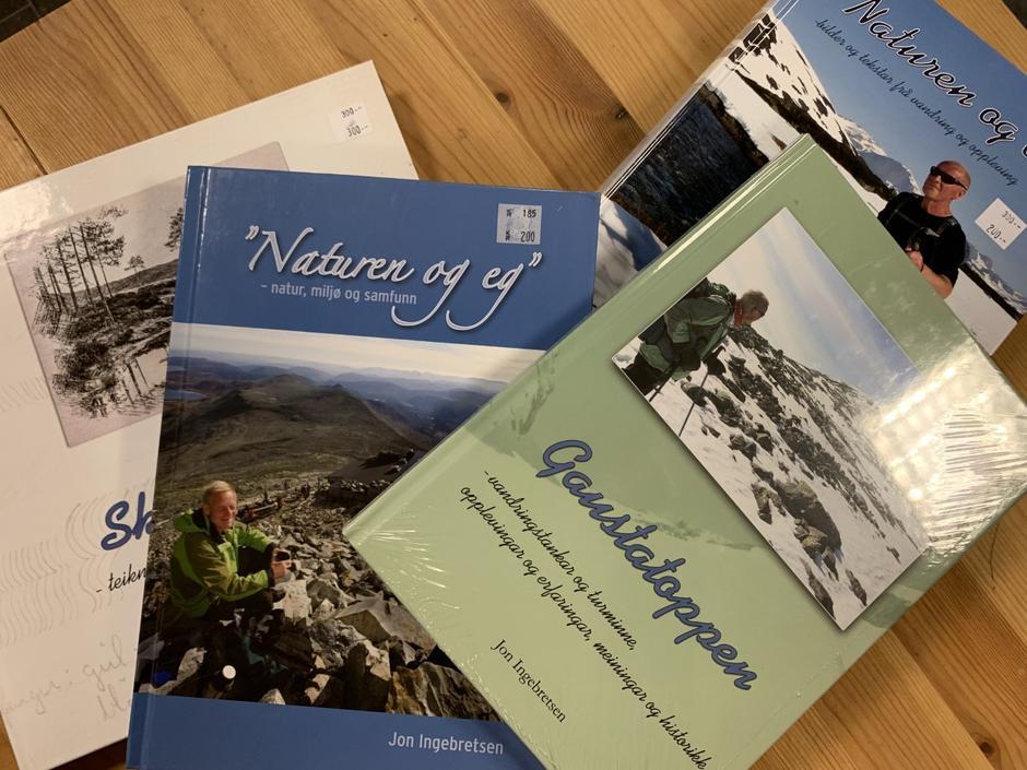 Jon Ingebretsen bøker