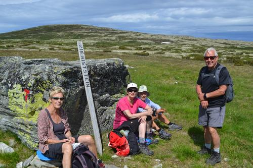 Fjellmarsj Ringebufjellet: fra Friisvegen til Vetåbua