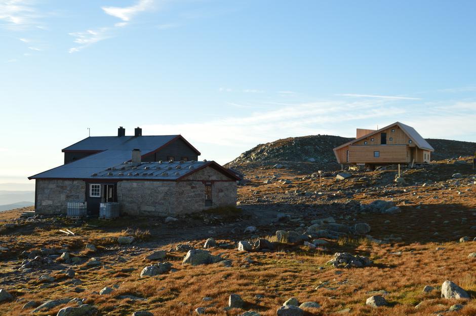 Dobbeldugnad på Høgevarde 21. - 27. juni. Disse dagene blir det jobbing på begge hyttene.
