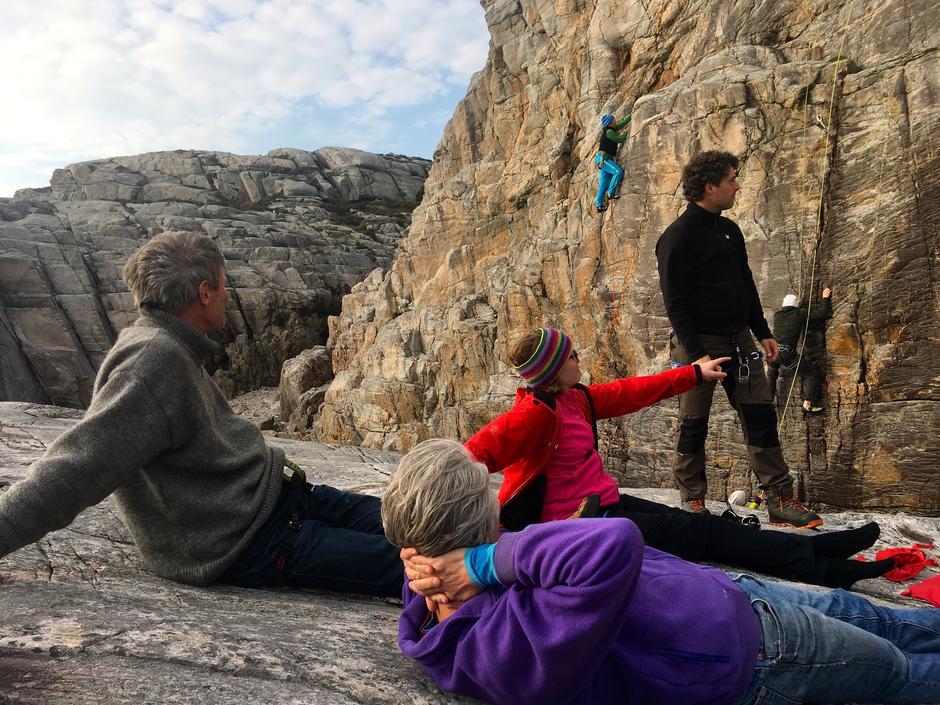 LAT: klatring og grilling på Atlantis