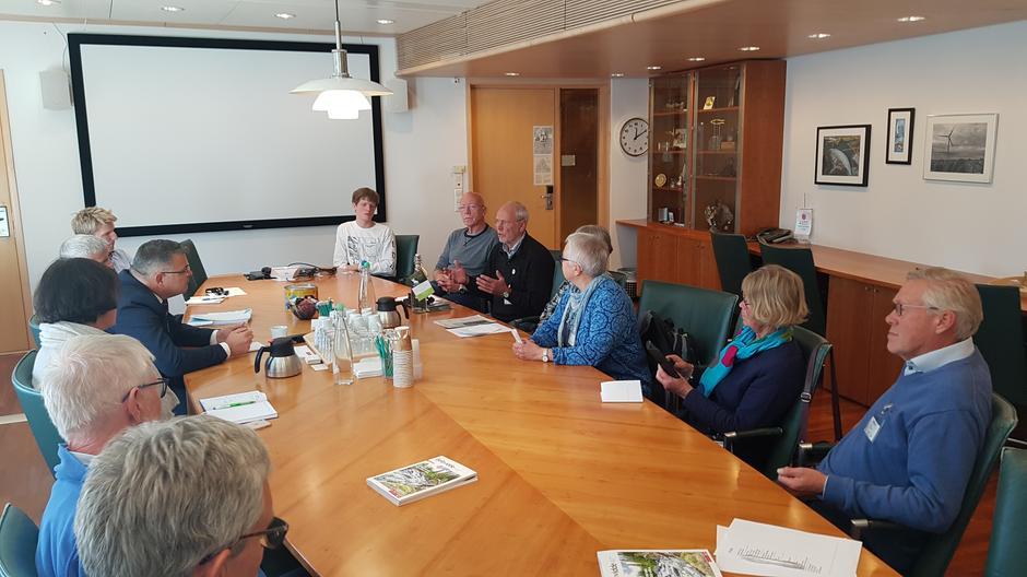 DNT, Naturvernforbundet og Natur og Ungdom møtte en lydhør minister.