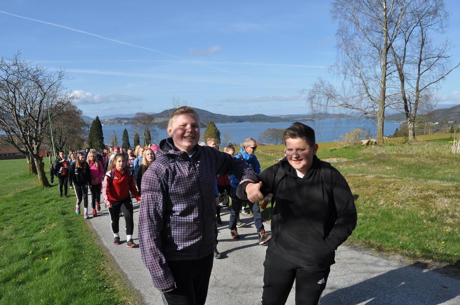 Opptur Kvinnherad 2016- Glade gutar gler seg