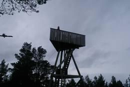 Utkikkstårnet på Loddo i Austevoll