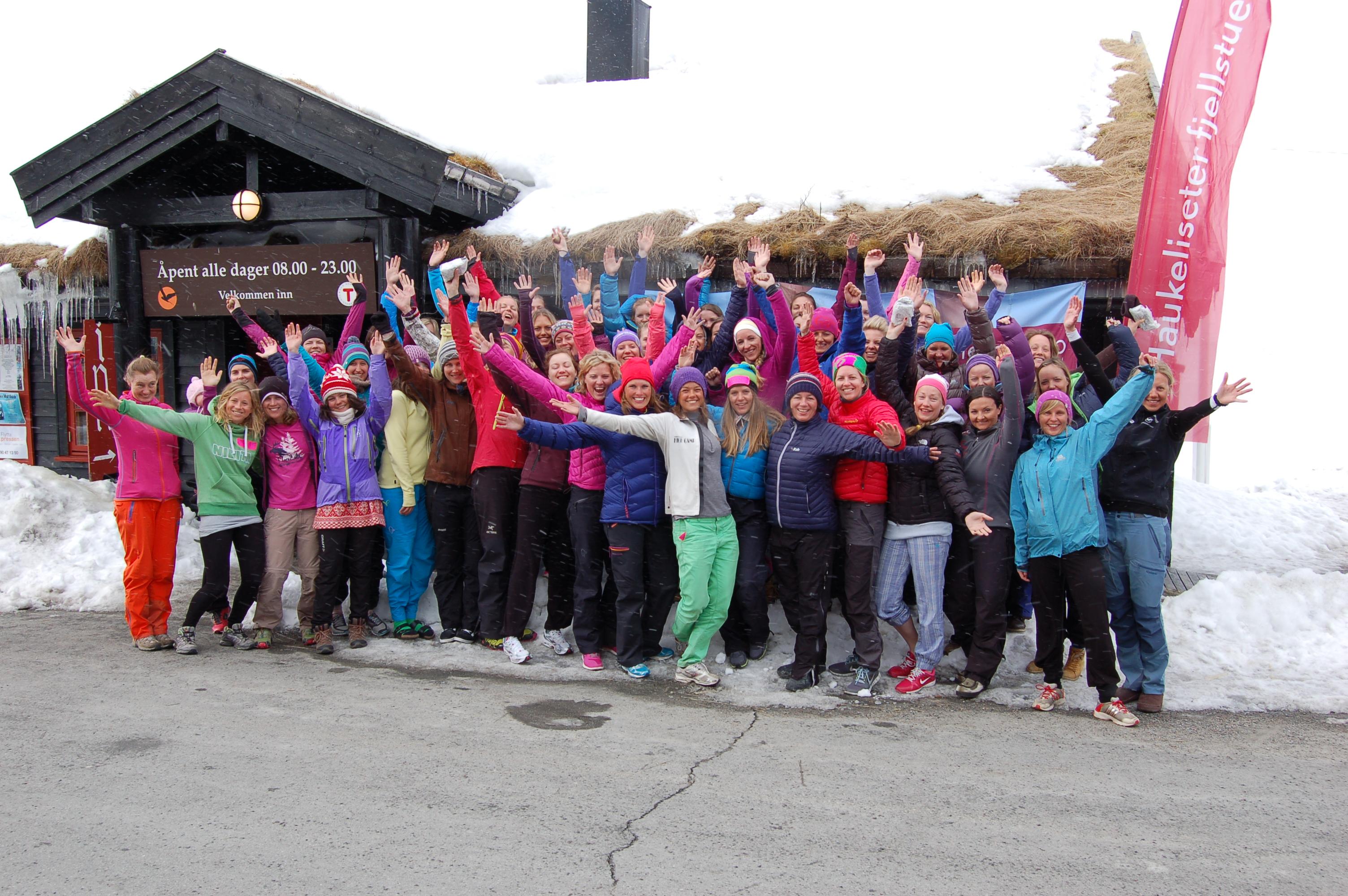 treffe jenter Ski