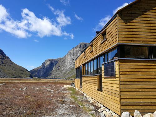 Den nye DNT-hytta i vakre Viglesdalen