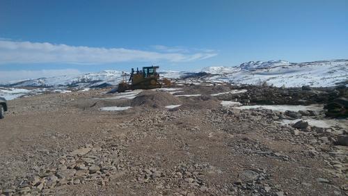 Urørt og sårbar natur på Storheia på Fosen har nå blitt et anleggsområde. Snart er dette et industiområde og viktig urørt natur er tapt.