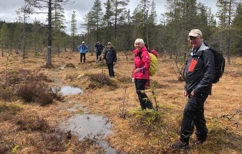 Langtur på Vardalsåsen 24. mai