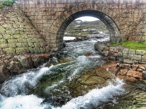 Bro bygget på begynnelsen av 1900-tallet