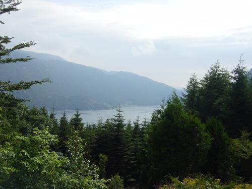 Utsikt fra Stråtveit