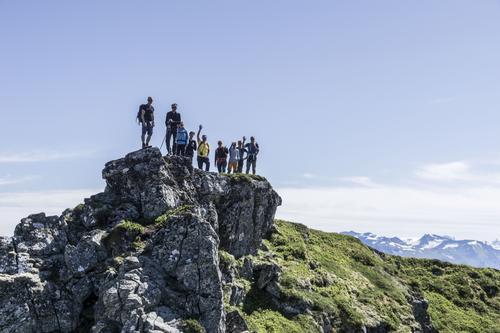 Luftig tur i Ørsta - Liadalsnipa og Bjørnastighornet