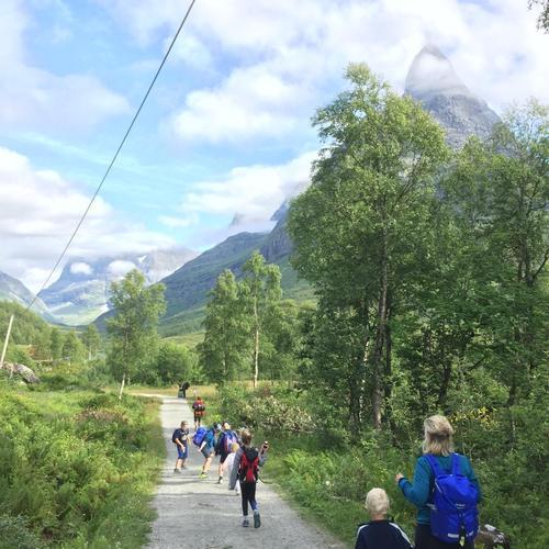 Dagstur med Barnas Turlag i Innerdalen