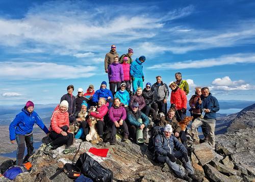 Fellestur til Brurskanken 1447 moh