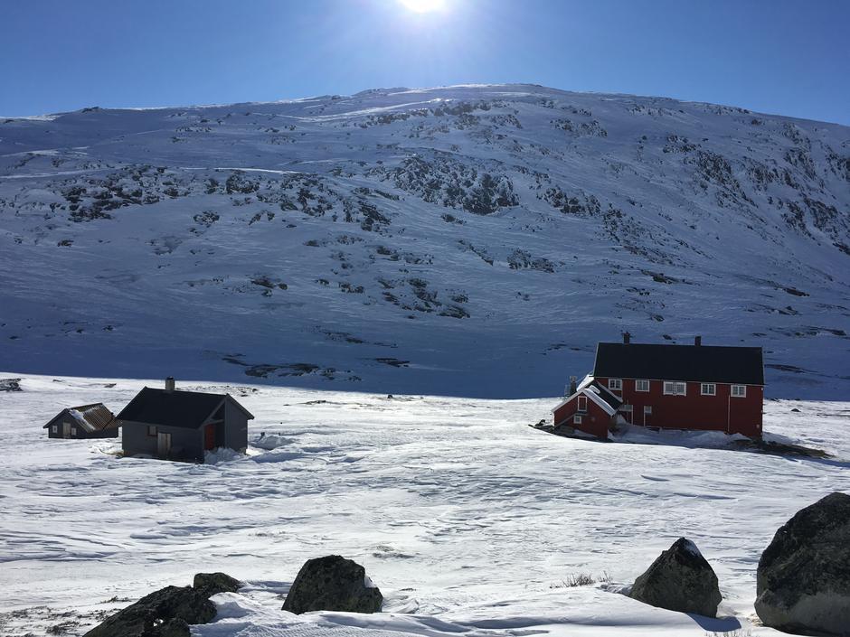 Tirsdag 13.3: Stavali på Hardangervidda vest