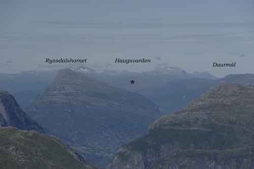 Utsikt frå Høgenipa
