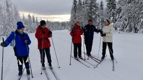 Skitur til Vollkoia/Blåmyrkoia 17.01.2018.