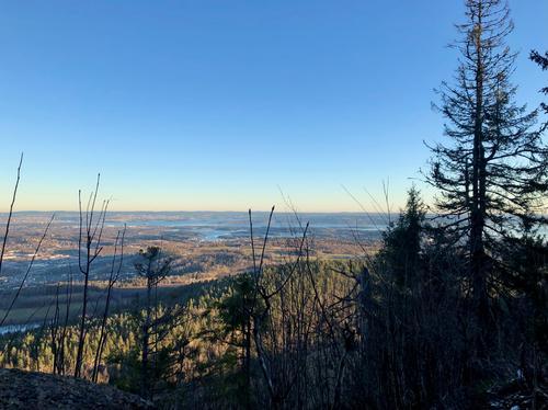 Utsikt fra Ramsåsen