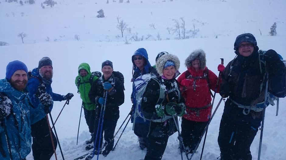 Deltagere (fra venstre)  John Trygve Angvik, Espen Nedland, Vidar Mjelde, Per Olav Blikås, Johan Chr. Lønnechen, Inger J Bjørnå, Sissel Røsand, Terje Møst.