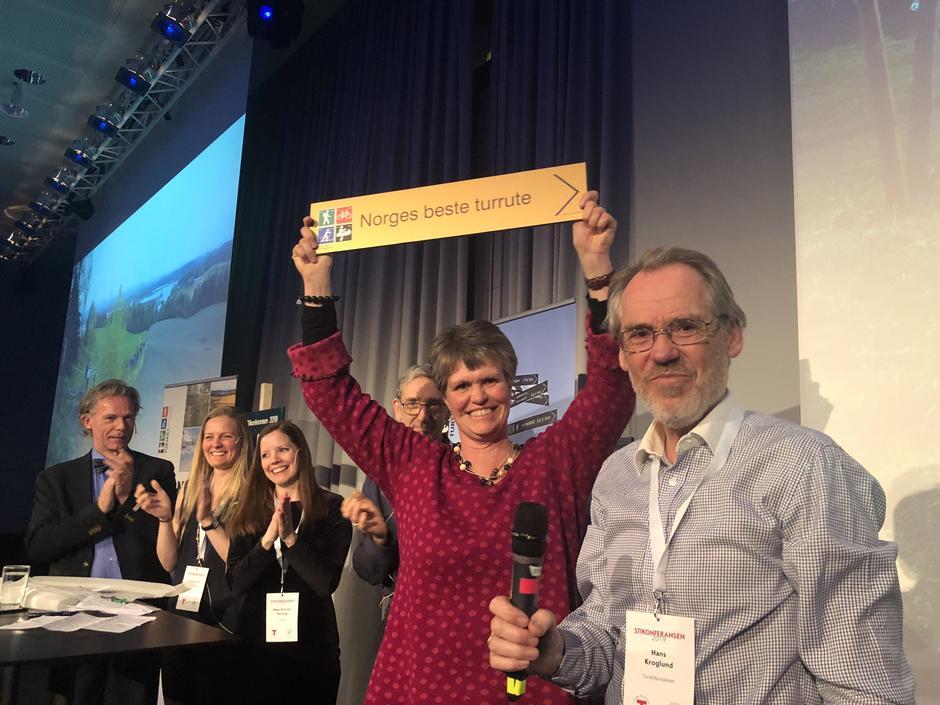Juryen valgte Ilsengstiene til Norges beste turrute!