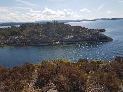 Frå sør på Tyssøyna