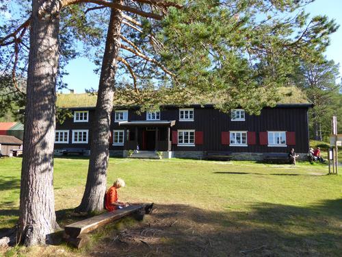 Hyttene i fjellet åpnet 24. juni
