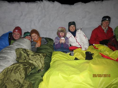 Barnas Turlag påskebasecamp Hardangervidda