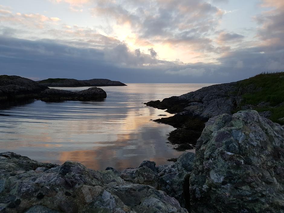 Litt reklame for Gjørøyna og utsikta.