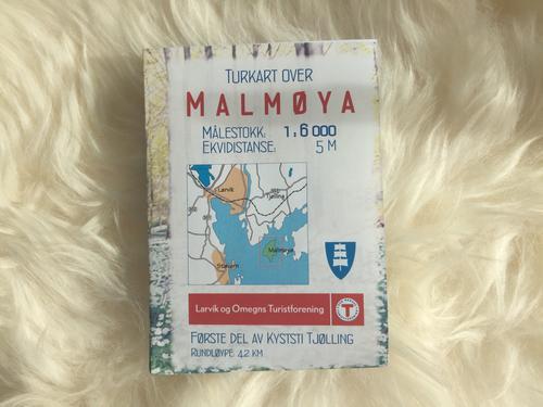 Turkart over Malmøya