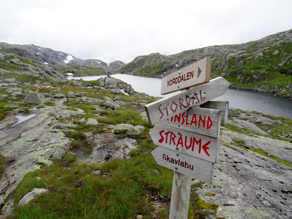 Vilt og vakkert ved Vardadalsbu turisthytte i Modalen
