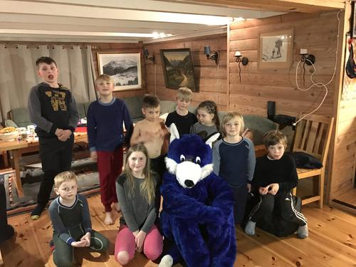 Barnas Turlag på overnattingstur - Lundarstølen 10.-11.mars