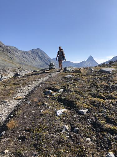 Siste helga i august var det 5 dagers tur i Jotunheimen