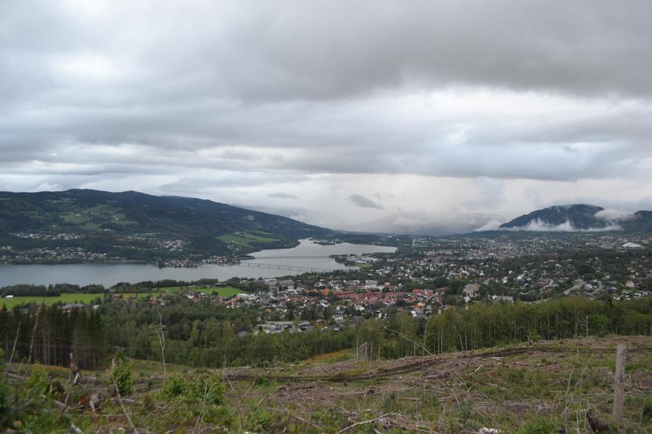 Utsikt fra Søre Ål-kampen