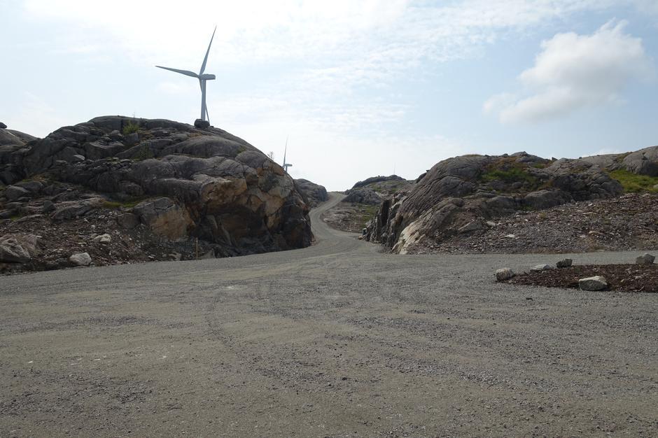 Veikryss i Egersund vindpark
