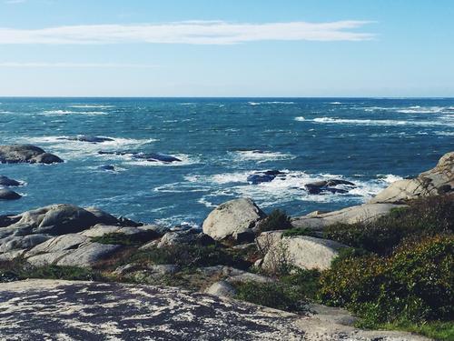 Utsikten fra Rakke i Stavern.