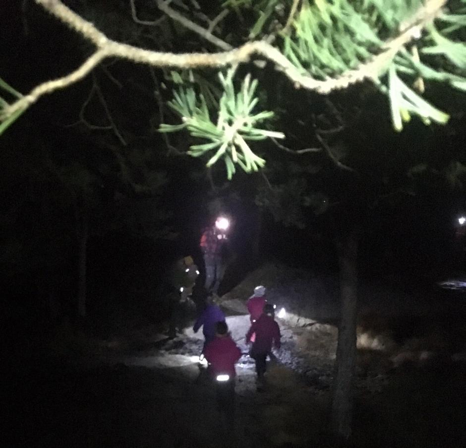 På tur i mørket