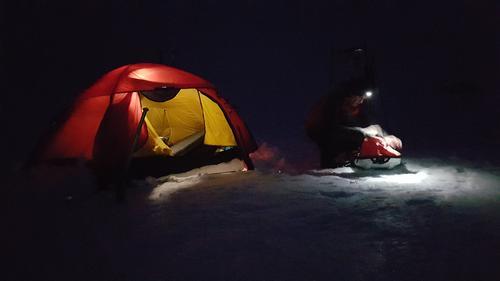 Vintertelting i Setesdal Vesthei