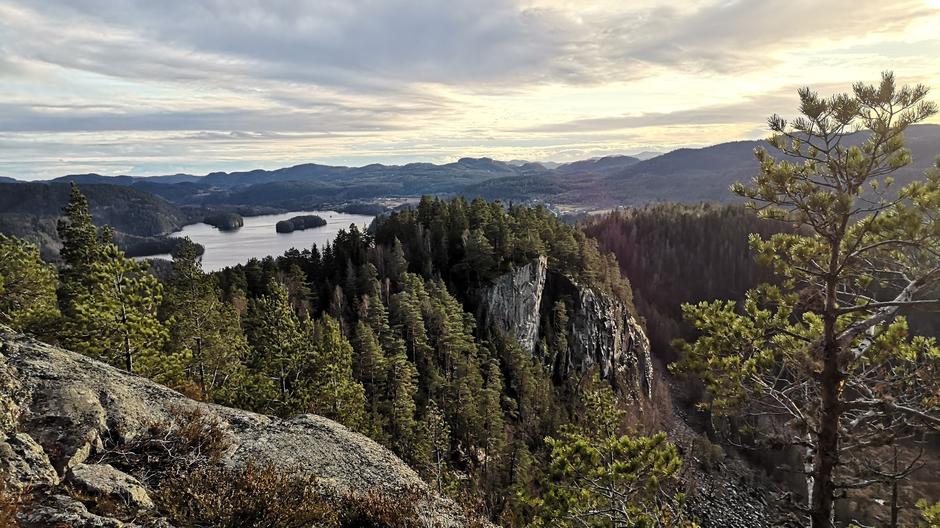 Utsikten fra Ramsås.