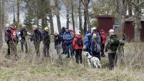 Tur til Hornsodden på helgøya 05.05.21