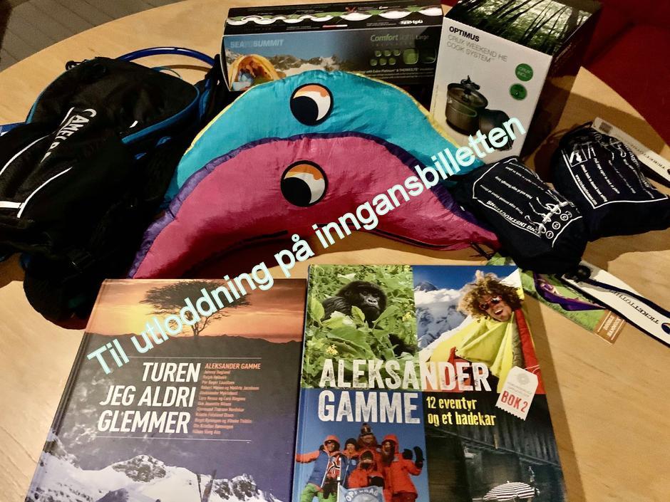 Fjellsport.no sponset mange flotte premier. Vi håper alle gavene blir godt benyttet på turer. God fornøyelse!